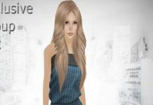 Lisa Ribbed Black & Blue Dress Group Gift by Urban Cherry - Teleport Hub - teleporthub.com