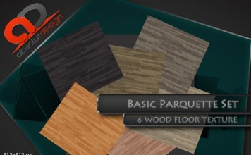 Basic Parquet Texture Set 01 by Absolut Design - Teleport Hub - teleporthub.com