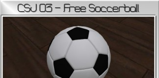 Mesh Soccer Ball by cecSTUDIOS - Teleport Hub - teleporthub.com