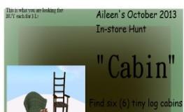 Aileen's Cabin Hunt: October - Teleport Hub - teleporthub.com