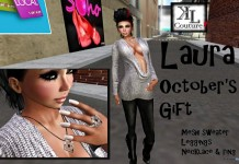 Laura Outfit October 2013 Group Gift by KL Couture - Teleport Hub - teleporthub.com