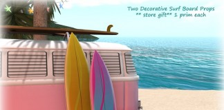 Two Decorative Surfboards by What Next - Teleport Hub - teleporthub.comTwo Decorative Surfboards by What Next - Teleport Hub - teleporthub.com