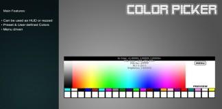 Color Picker HUD For Builder by SLC - Teleport Hub - teleporthub.com