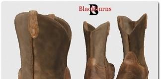 Blackburns Cowboy Boots Brown by Vlad Blackburn - Teleport Hub - teleporthub.com