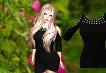 Lover Dress Black 1L Promo Gift by TCHUCA DESIGN - Teleport Hub - teleporthub.com
