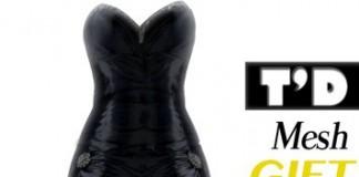 Ivory Fog Long Dress 1L Promo by TD Mesh - Teleport Hub - teleporthub.com