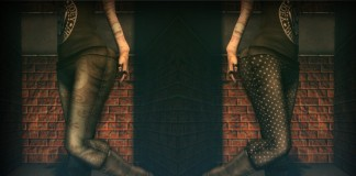 Mesh Baggys Vintage & Dots Pants 1L Promo by YAKO - Teleport Hub - teleporthub.com