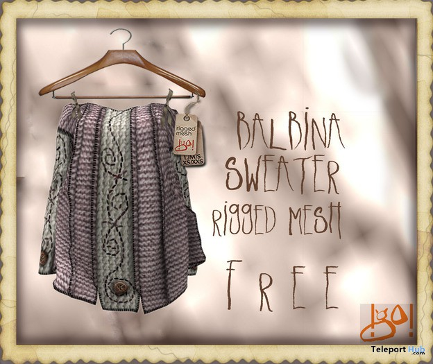 Balbina Sweater 1L Promo by !gO! - Teleport Hub - teleporthub.com