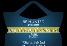 Bag It! Pack It! Clutch It! Mini Hunt - Teleport Hub - teleporthub.com