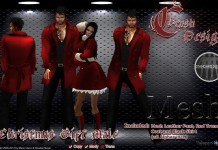 Christmas Outfit for Men and Women by Crash Design - Teleport Hub - teleporthub.com