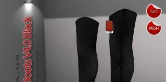 Black Boots v4.0 by RED - Teleport Hub - teleporthub.com