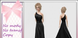 Black Mesh Dress 50L Promo by The Luxurious Mama - Teleport Hub - teleporthub.com