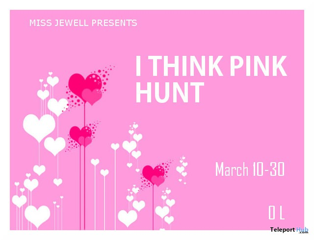 I Think Pink Hunt - Teleport Hub - teleporthub.com