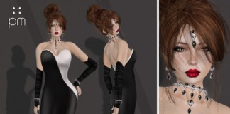 Aria Gown Group Gift by PurpleMoon - Teleport Hub - teleporthub.com