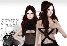 Blackheart Dress 2 in 1 Package Valentine Gift by SEVEN - Teleport Hub - teleporthub.com