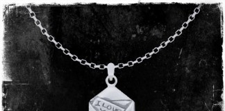 I LOVE U Mail Letter Necklace by Sweet Gift - Teleport Hub - teleporthub.com