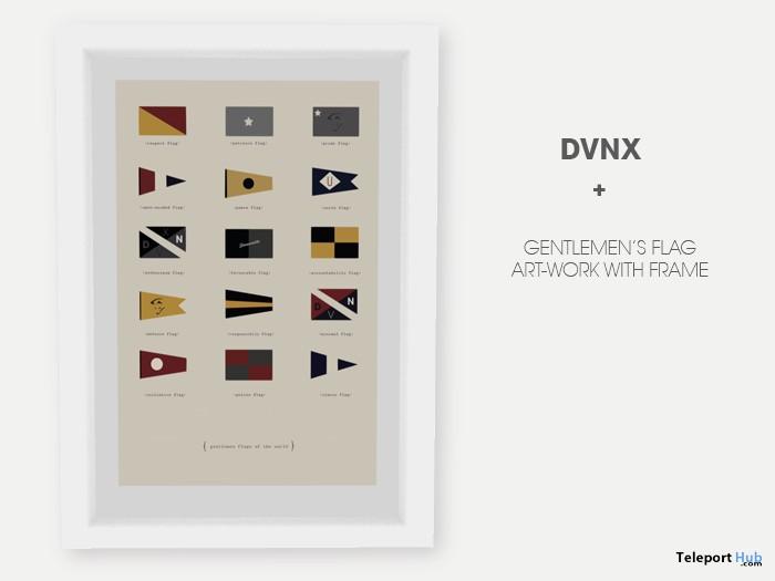 The Gentlemen's Flag Art-Work 50L Promo by DVNX - Teleport Hub - teleporthub.com