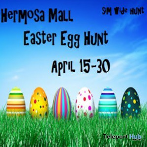Hermosa Mall Easter Egg Hunt - Teleport Hub - teleporthub.com