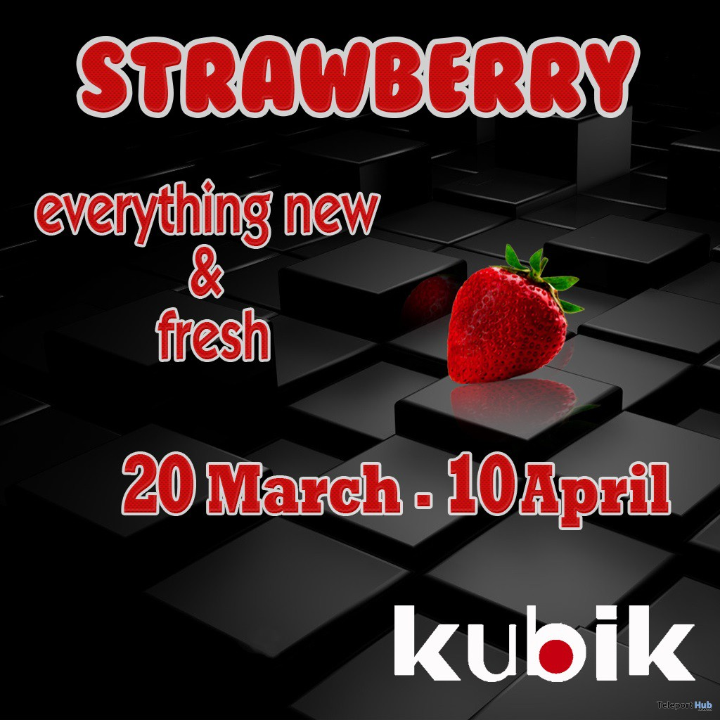 Strawberry Kube Hunt - Teleport Hub - teleporthub.com