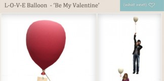 L-O-V-E Balloons Be My Valentine by {what next} - Teleport Hub - teleporthub.com