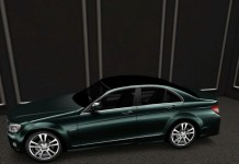 Mercedes Benz C Class Car with Color Changer HUD MIMI Group Gift by AKEYO - Teleport Hub - teleporthub.com