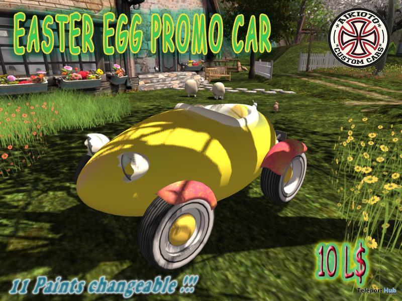 Easter Egg Car 10L Promo by AIKIOTO - Teleport Hub - teleporthub.com