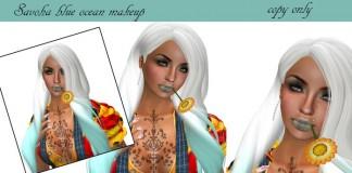 Blue Ocean Makeup 1L Promo by Savoha Creations - Teleport Hub - teleporthub.com