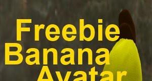 Banana Avatar by ComiQ Con - Teleport Hub - teleporthub.com