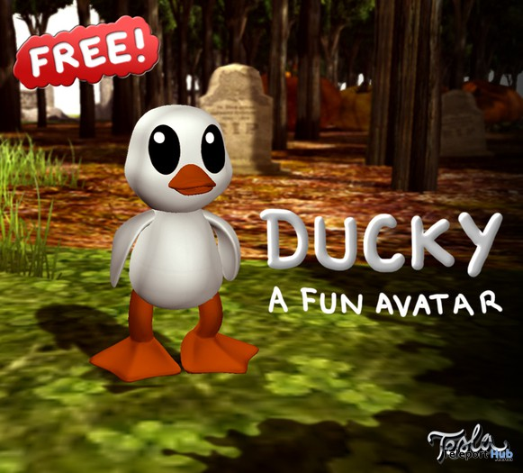 Ducky Avatar by TESLA - Teleport Hub - teleporthub.com
