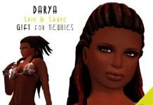 Darya Ebony Skin and Shape for Newbies by Bodyzone - Teleport Hub - teleporthub.com