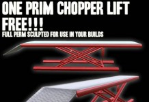1 Prim Motorcycle or Chopper Lift Full Perm by KCP Chopper Parts & Scripts - Teleport Hub - teleporthub.com