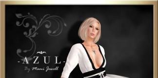 Casual White Dress July 2014 Group Gift by -AZUL- - Teleport Hub - teleporthub.com