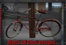 1 Prim Bicycle by 2H - Teleport Hub - teleporthub.com
