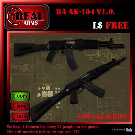 RA AK-104 Gun by Lokos Slade - Teleport Hub - teleporthub.com
