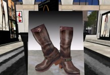 Grunge Boots MIMI's Choice Group Gift by MEB - Teleport Hub - teleporthub.com