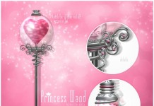 Princess Wand by love always - Teleport Hub - teleporthub.com