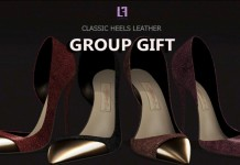 Classic Heels Leather For Slink Feet Group Gift by LE FORME - Teleport Hub - teleporthub.com