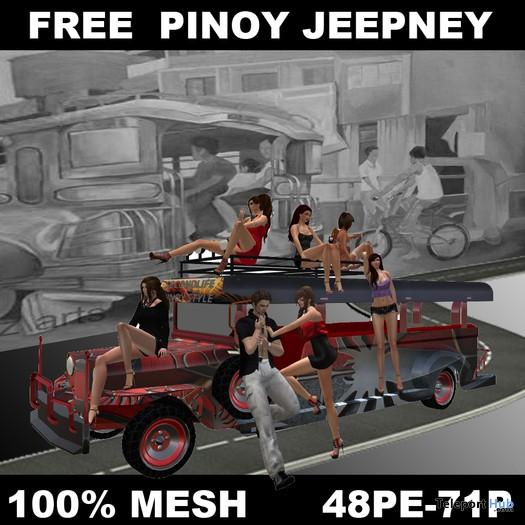 Pinoy Jeepney by Silverblade Motors - Teleport Hub - teleporthub.com