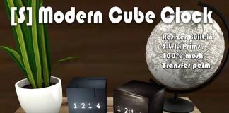 [S] Modern Cube Clock Series Gacha 50L Promo by [satus Inc] - Teleport Hub - teleporthub.com