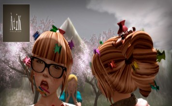 Dollarbie Hair, Hairclips 1L Promo by AtiK - Teleport Hub - teleporthub.com