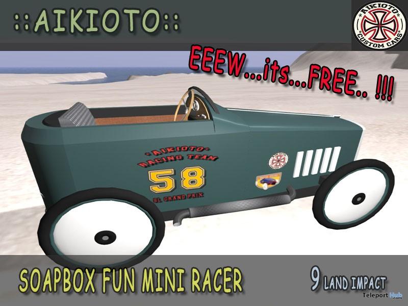 Soapbox Fun Mini Racer Group Gift by AIKIOTO - Teleport Hub - teleporthub.com