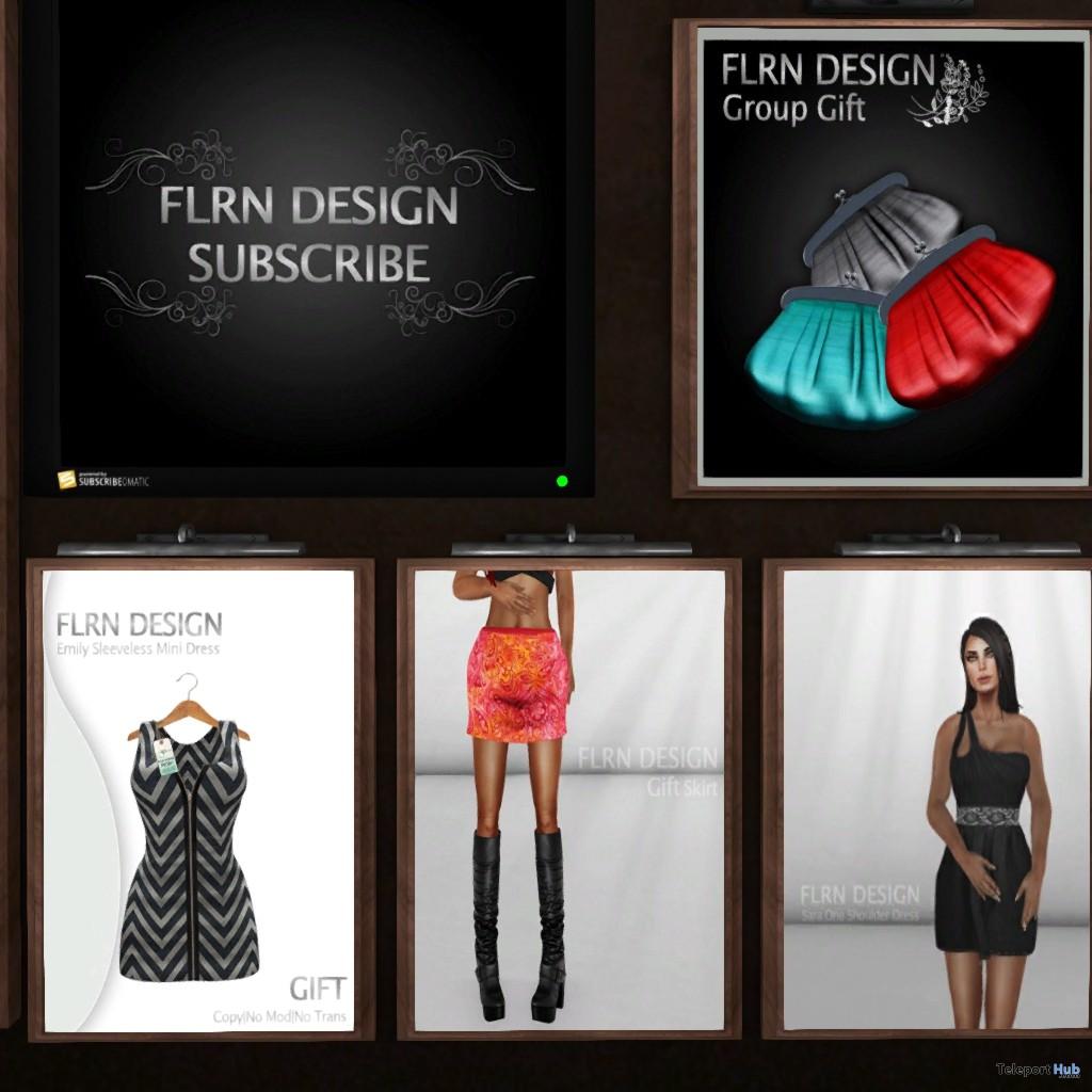 Dresses, Skirt, and Purses 4 Group Gifts by FLRN DESIGN - Teleport Hub - teleporthub.com