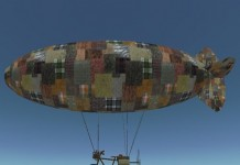 The Amazing Bicycle Blimp by AleyMart - Teleport Hub - teleporthub.com