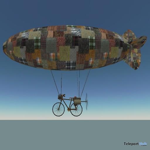 The Amazing Bicycle Blimp by AleyMart - Teleport Hub - teleporthub.com