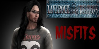Misfits Male T-Shirt September 2014 Group Gift by Lavarock Creations - Teleport Hub - teleporthub.com
