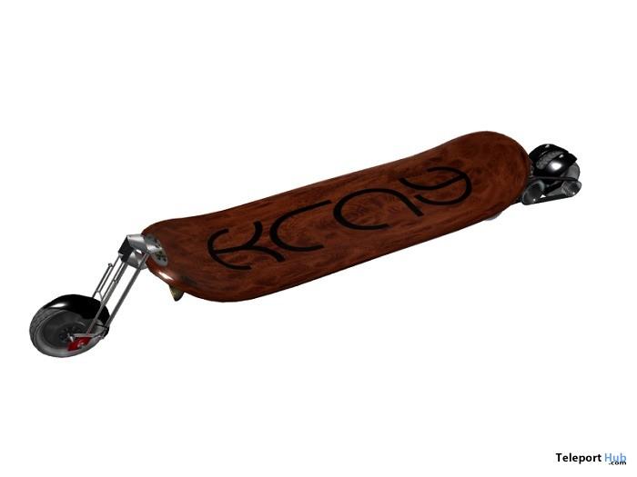 Chopping Board Motorized Skate Board by KRAY - Teleport Hub - teleporthub.com