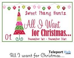 All I Want for Christmas Hunt - Teleport Hub - teleporthub.com