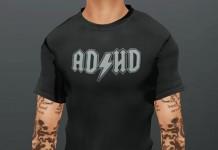 ADHD Mesh T-Shirt For Men by Hattery Design - Teleport Hub - teleporthub.com