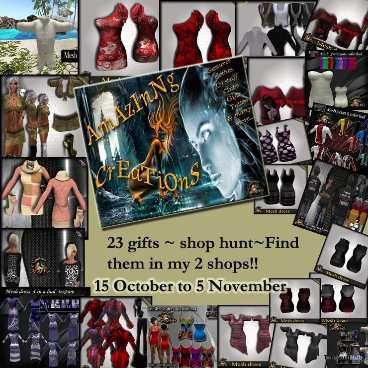 Amazing Creations Shop Hunt - Teleport Hub - teleporthub.com