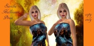 Halloween Dress by Savoha Creations - Teleport Hub - teleporthub.com